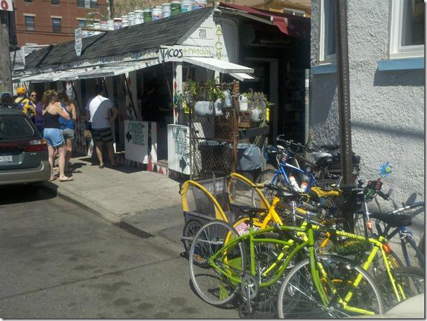 bikes tacos